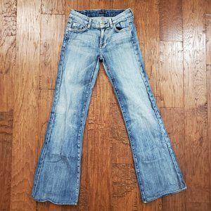 Fidelity Denim Octavia Light Flare Jeans 27